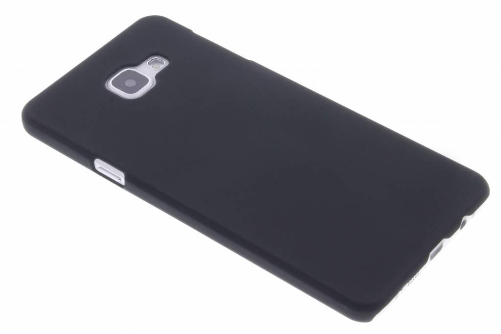 Zwart effen hardcase hoesje voor de Samsung Galaxy A7 (2016)