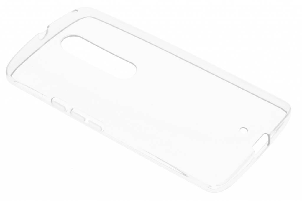 Transparante gel case voor de Motorola Moto X Play