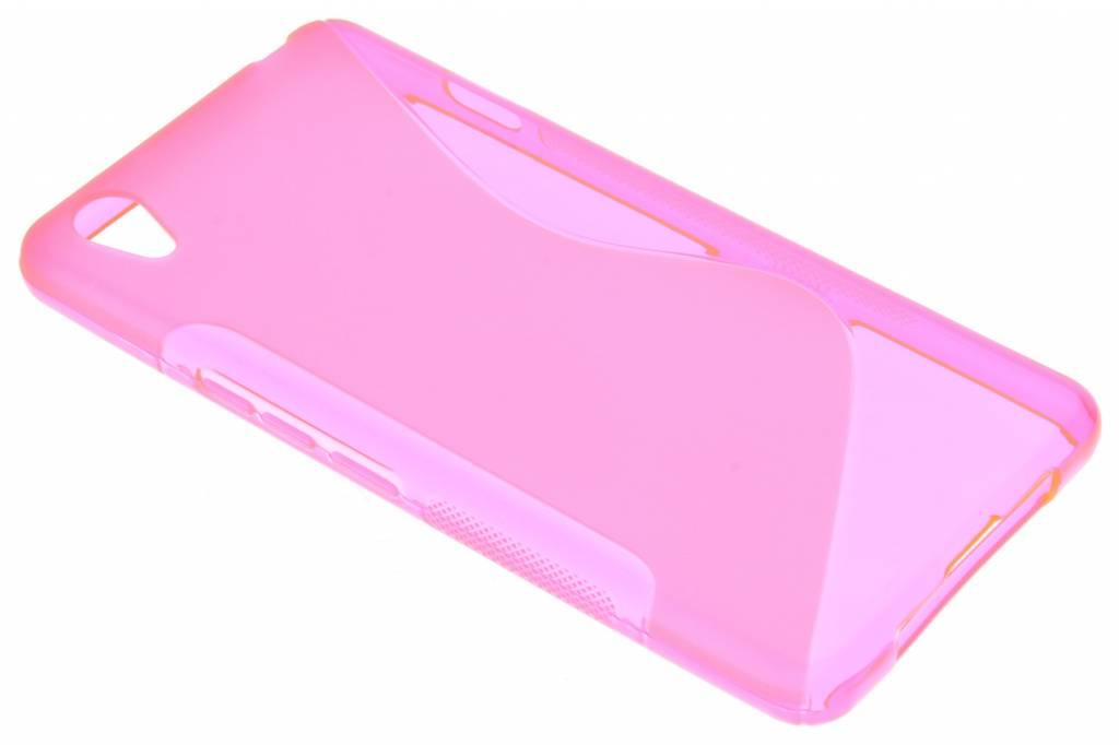 Roze S-line TPU hoesje voor de OnePlus X