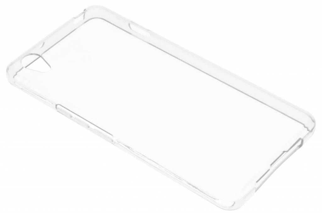 Transparante gel case voor de OnePlus X