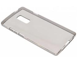 Grijs transparant gel case OnePlus 2