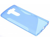 Blauw S-line TPU hoesje LG G4 Pro
