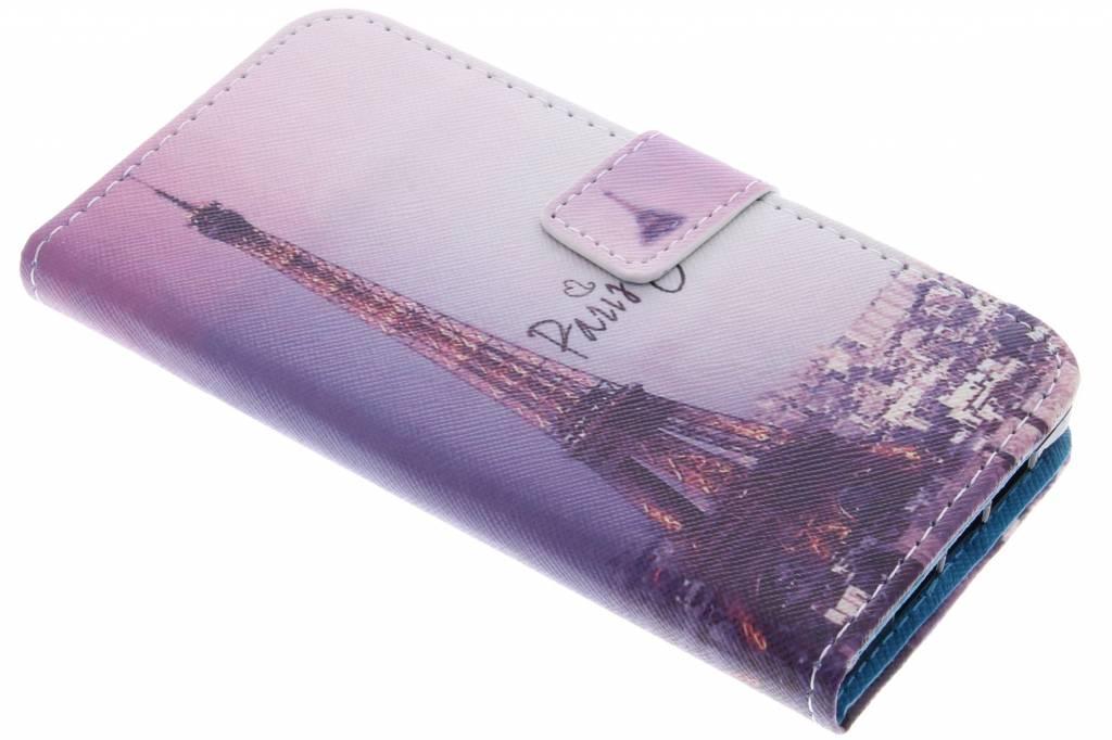 Parijs design TPU booktype hoes voor de OnePlus X