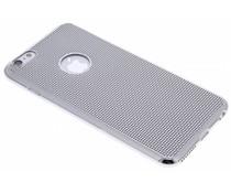 Zilver raster TPU hoesje iPhone 6(s) Plus