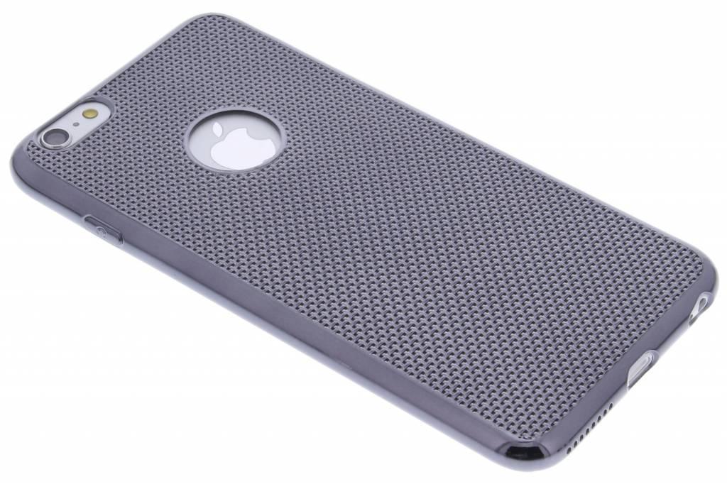 Grijs raster TPU hoesje voor de iPhone 6(s) Plus