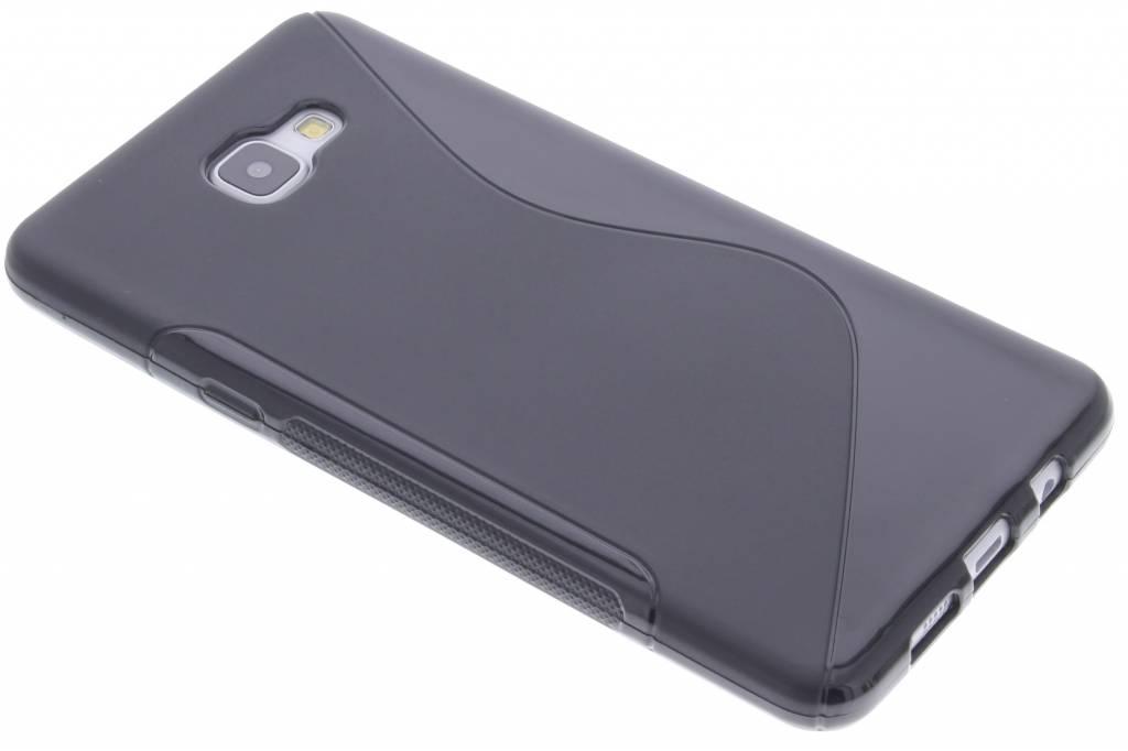 Zwart S-line TPU hoesje voor de Samsung Galaxy A9 (2016)