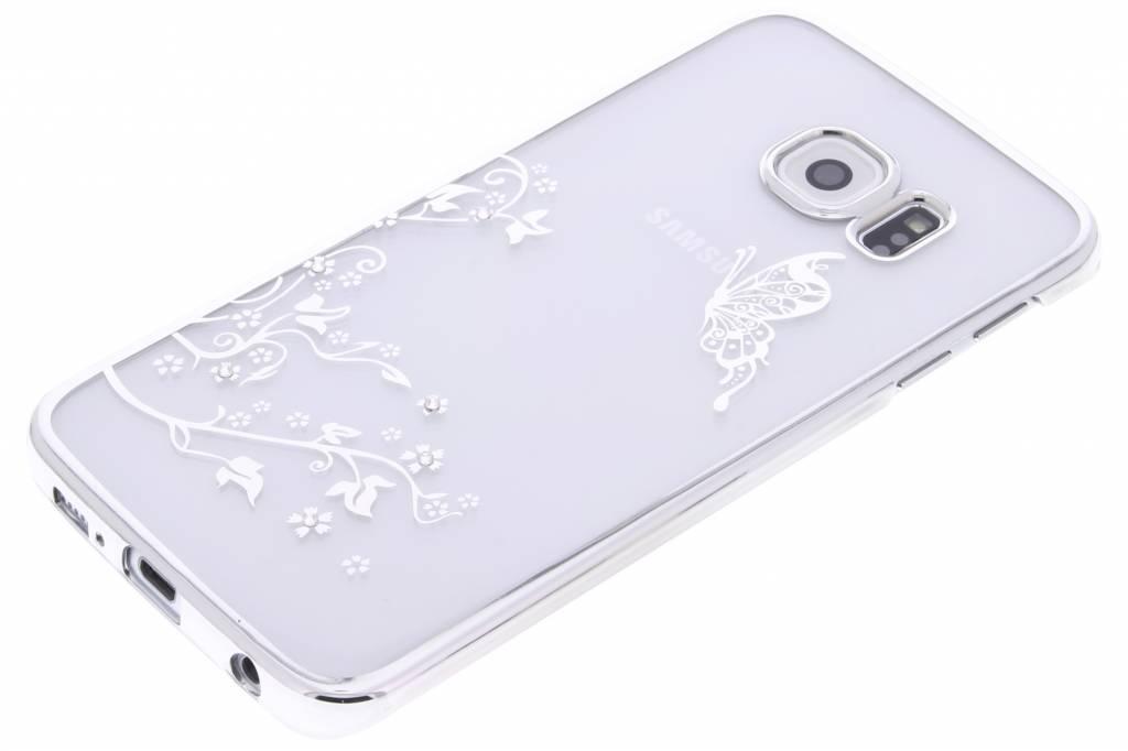 tre Le Cas Flip Tpu Heureux Design Pour Bord De Samsung Galaxy S jcK3es2x