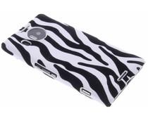 Zebra flock hardcase hoesje Microsoft Lumia 950 XL
