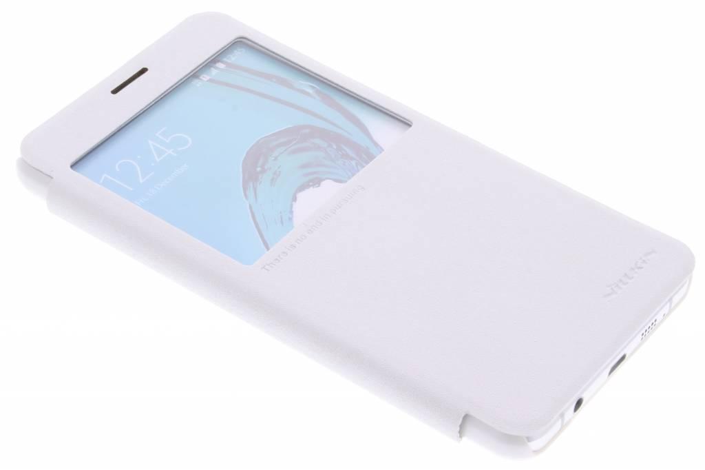 Nillkin Sparkle slim booktype voor de Samsung Galaxy A7 (2016) - Wit