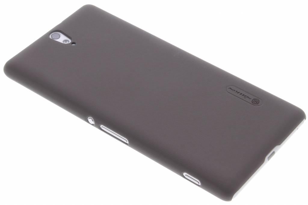 Nillkin Frosted Shield hardcase voor de Sony Xperia C5 Ultra - Brown