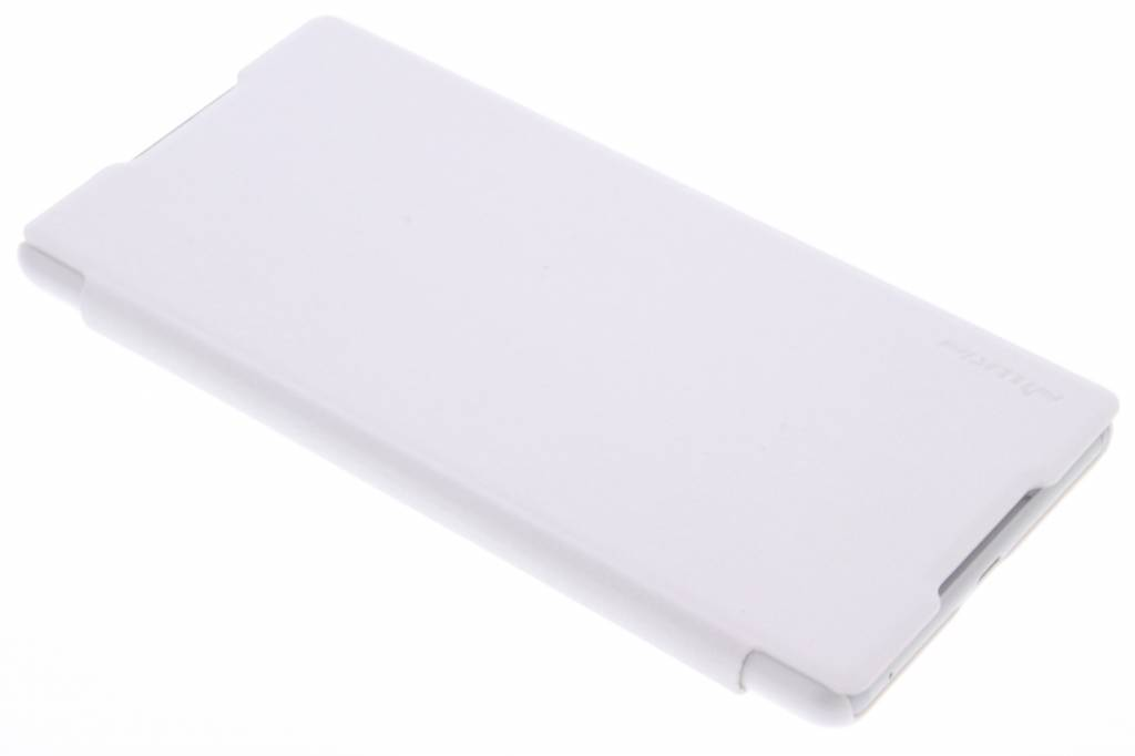 Nillkin Sparkle slim booktype voor de Sony Xperia C5 Ultra - Wit