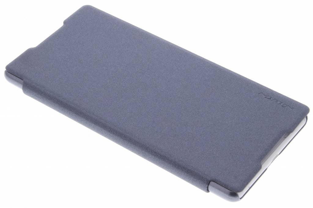 Nillkin Sparkle slim booktype voor de Sony Xperia C5 Ultra - Zwart