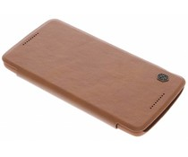 Nillkin Qin Leather slim booktype Motorola Moto X Play