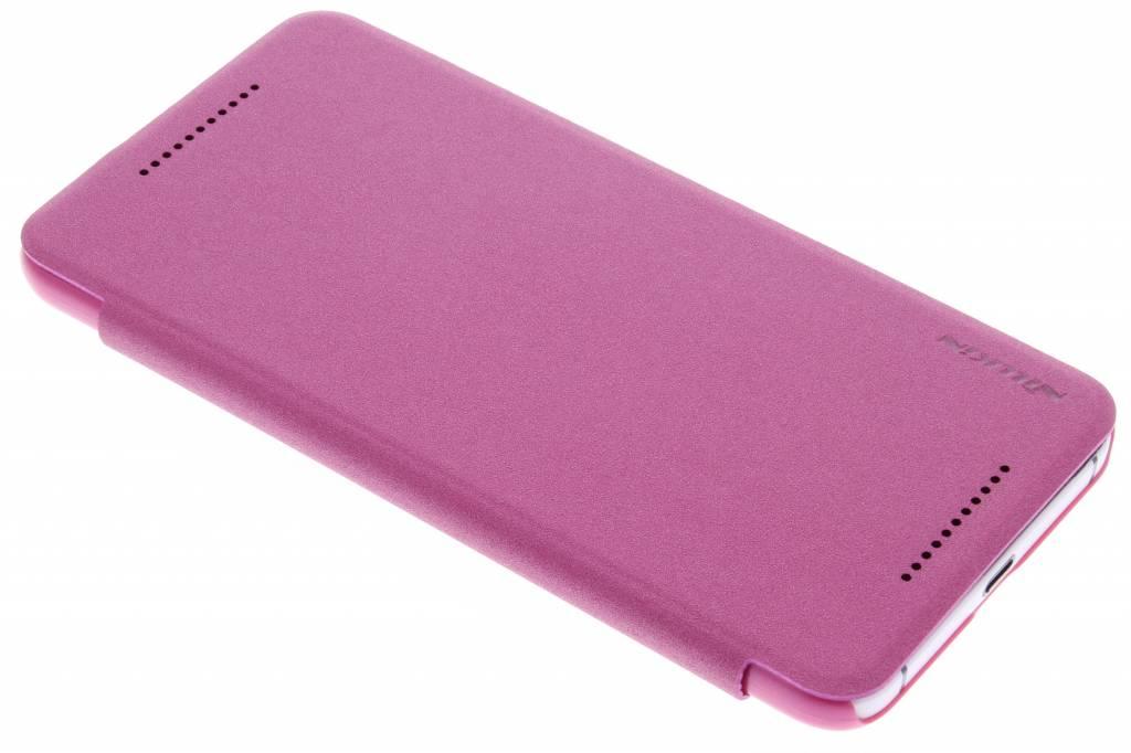 Nillkin Sparkle slim booktype voor de Huawei Nexus 6P - Fuchsia