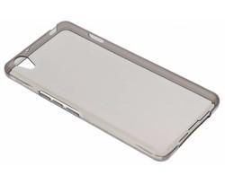 Grijs transparant gel case OnePlus X