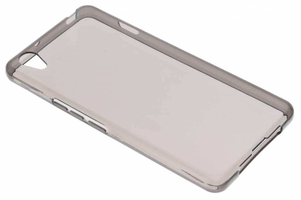 Grijs transparante gel case voor de OnePlus X