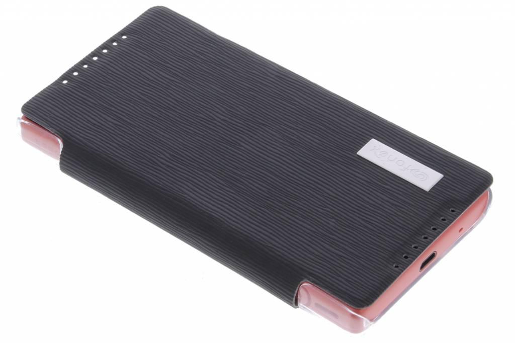 Fonex Crystal Slim Book voor de Sony Xperia Z5 Compact - Black