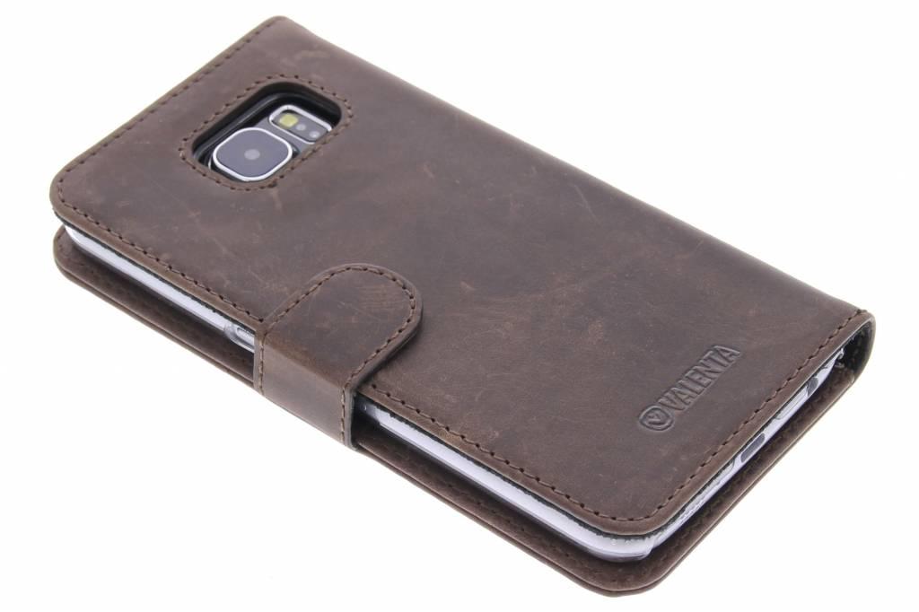 Valenta Booklet Classic Luxe voor de Samsung Galaxy S6 - Vintage Brown