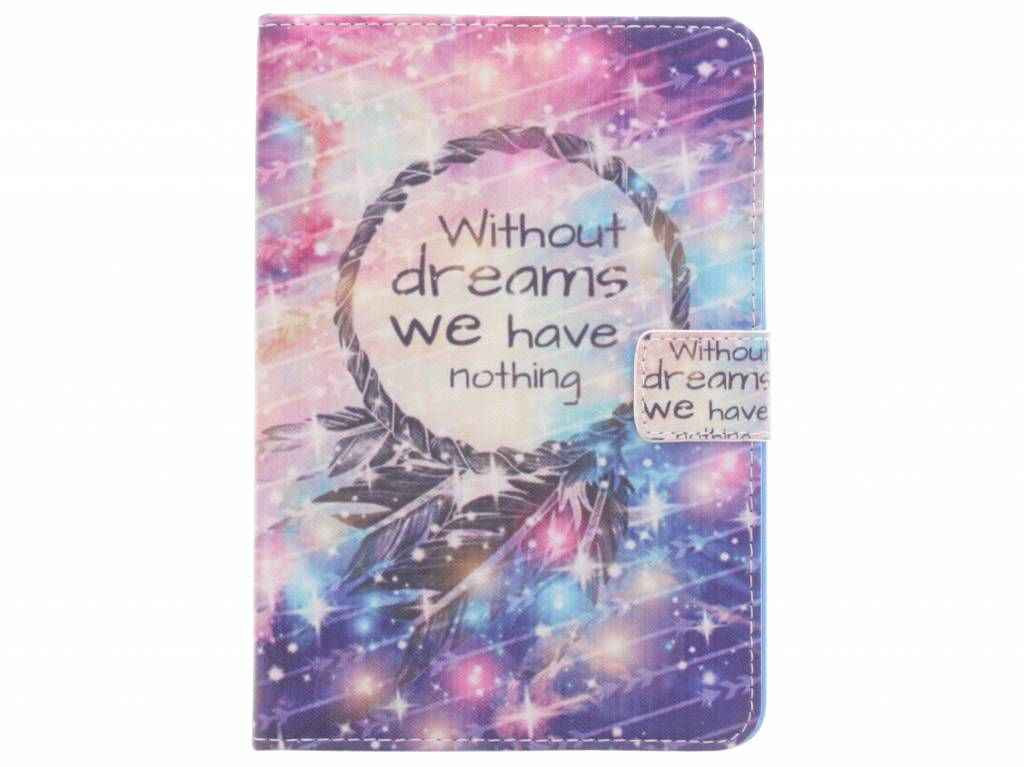 Without dreams design TPU tablethoes voor de iPad Mini / 2 / 3