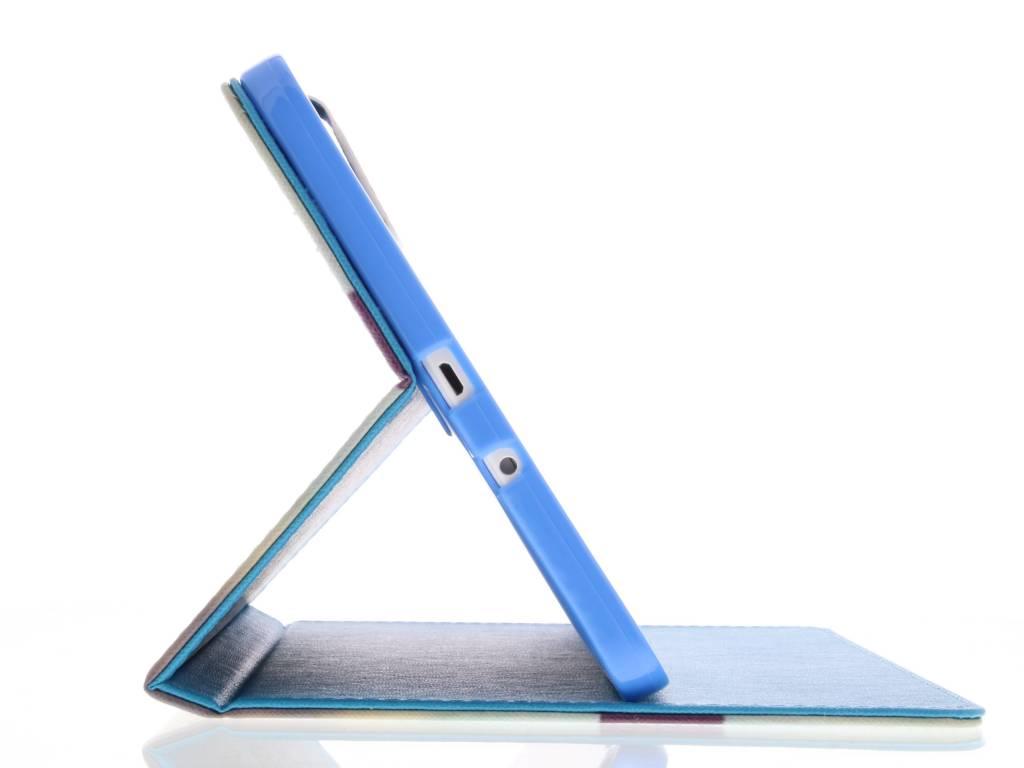 Vivre La Conception De La Vie Tpu Tablethoes Voor De Samsung Galaxy Tab 9.6 E QxXUD
