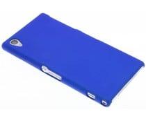 Blauw effen hardcase Sony Xperia Z1