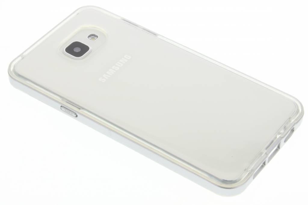 Zilveren bumper TPU case voor de Samsung Galaxy A5 (2016)