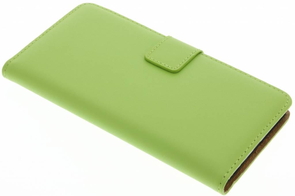 Groene stijlvolle bookcase voor de Samsung Galaxy A5 (2016)