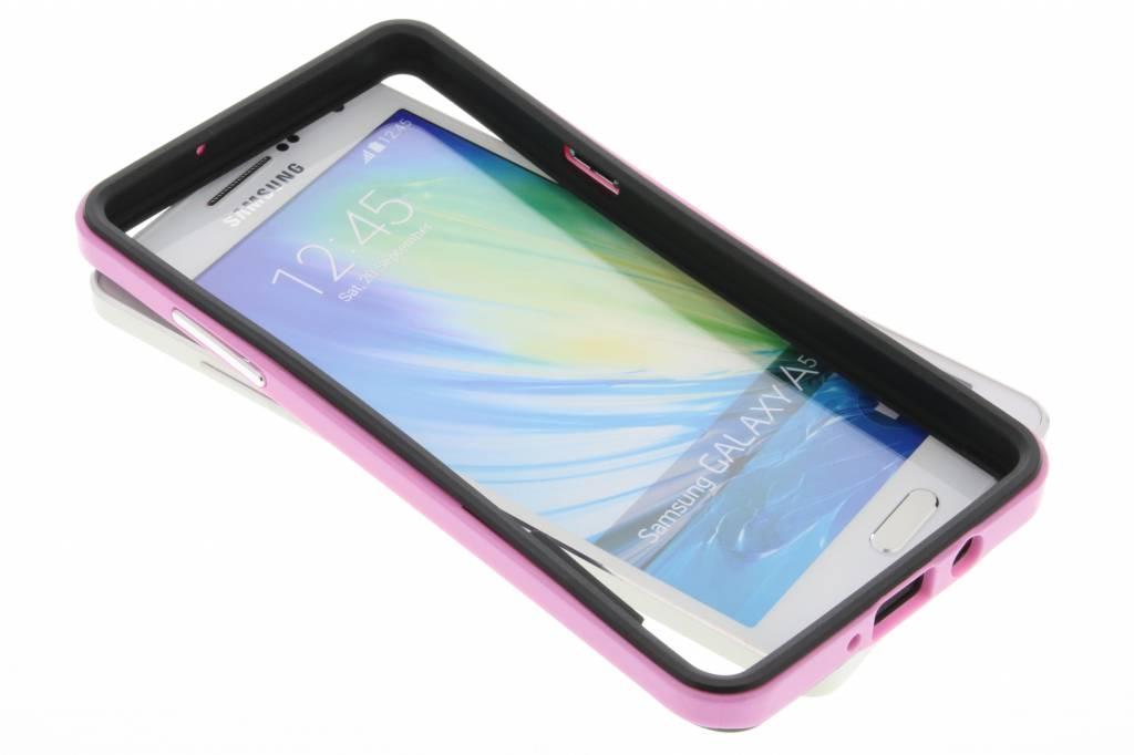 Roze bumper voor de Samsung Galaxy A5