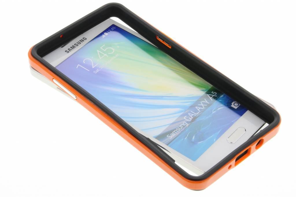 Oranje bumper voor de Samsung Galaxy A5