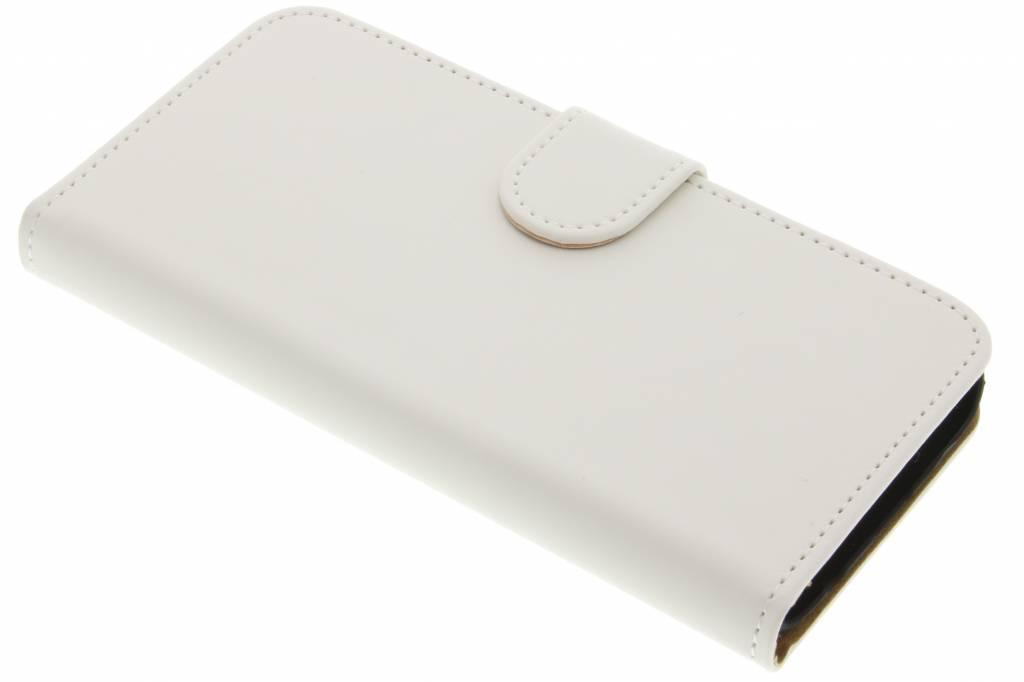 Witte effen booktype hoes voor de Samsung Galaxy S7