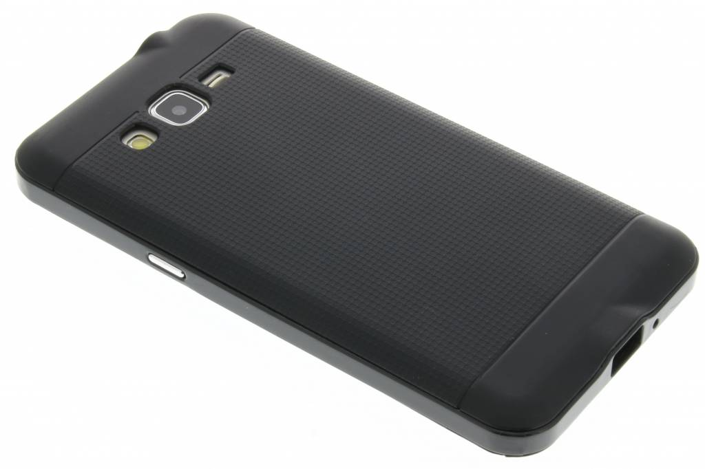 Zwarte TPU Protect case voor de Samsung Galaxy Grand Prime