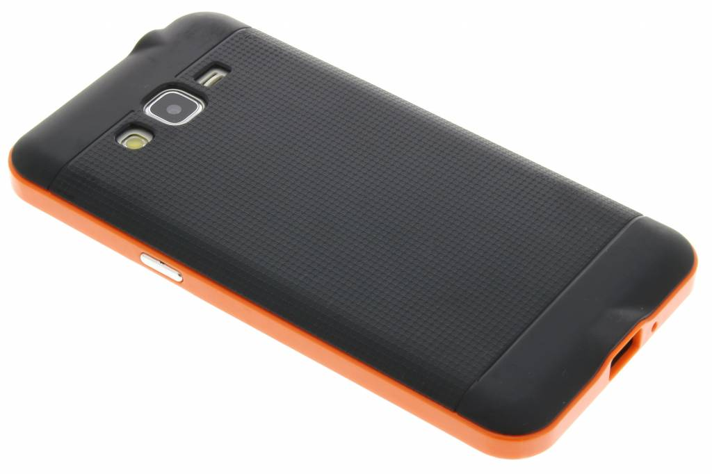 Oranje TPU Protect case voor de Samsung Galaxy Grand Prime