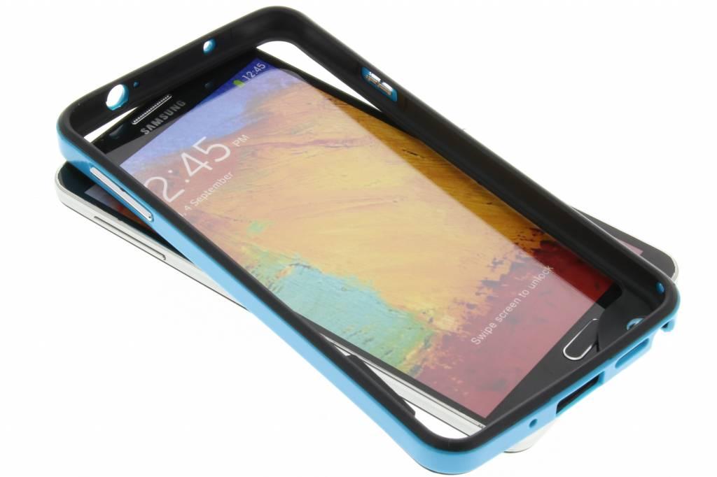 Blauwe bumper voor de Samsung Galaxy Note 3