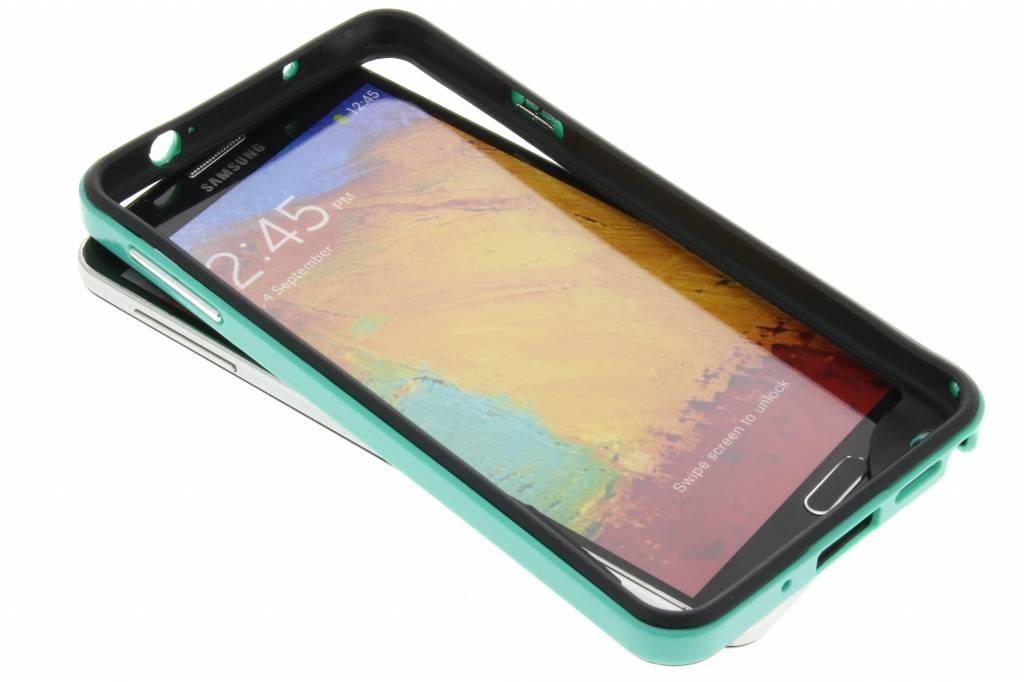 Groene bumper voor de Samsung Galaxy Note 3
