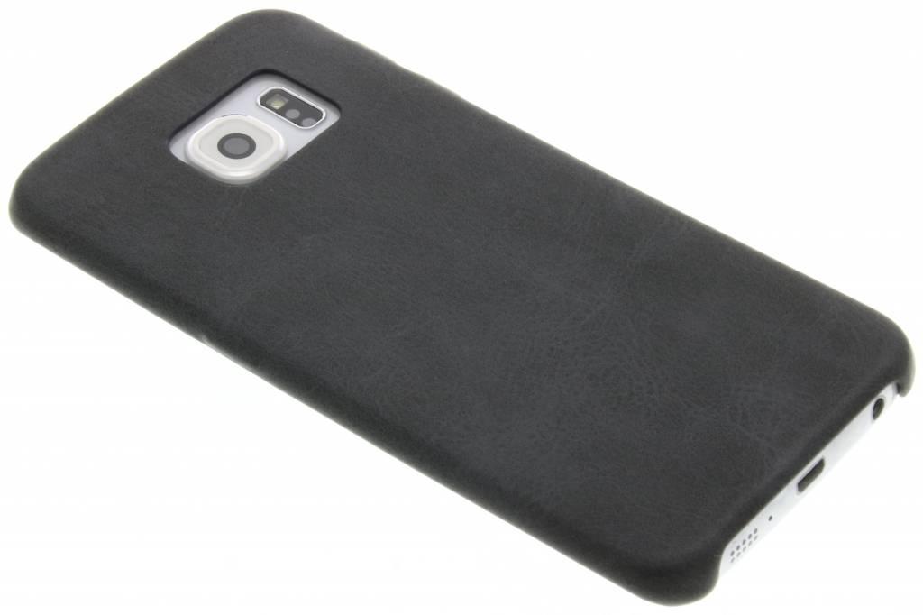 Grijze TPU Leather Case voor de Samsung Galaxy S6 Edge