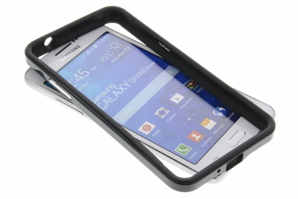 Zwarte bumper voor de Samsung Galaxy Grand Prime