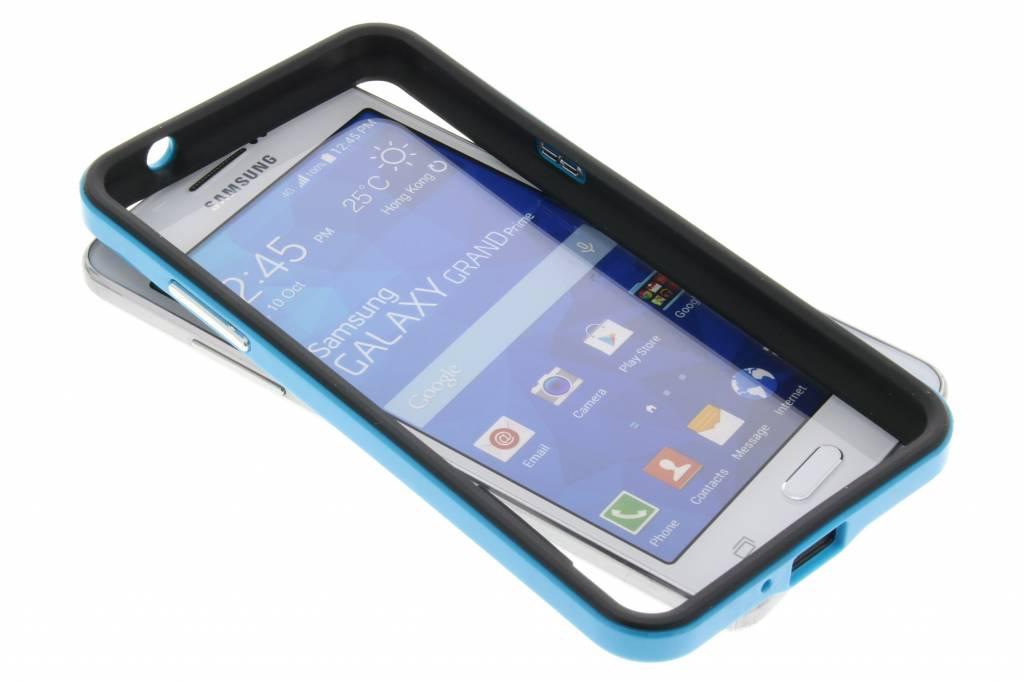 Blauwe bumper voor de Samsung Galaxy Grand Prime