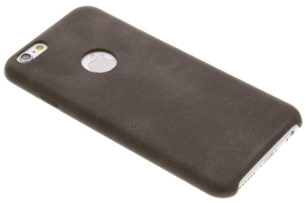Bruine TPU Leather Case voor de iPhone 6 / 6s