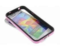 Roze bumper Samsung Galaxy S5 Mini