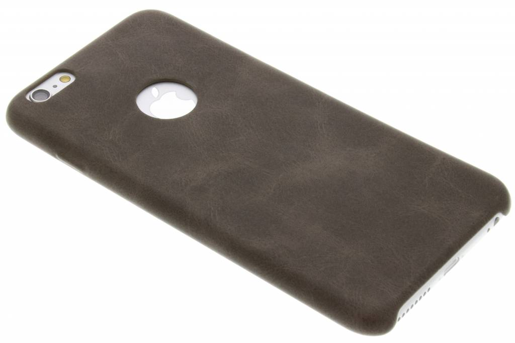 Bruine TPU Leather Case voor de iPhone 6(s) Plus