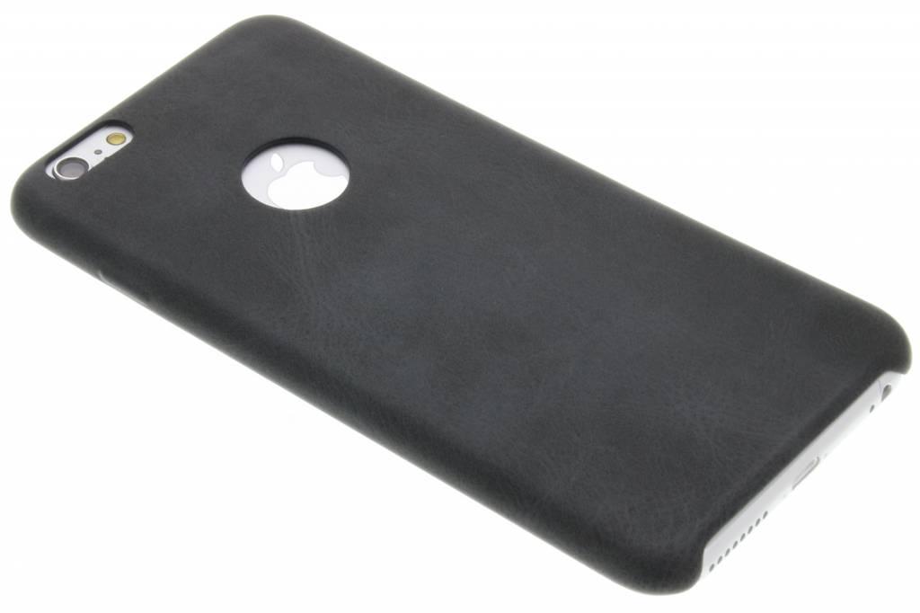Grijze TPU Leather Case voor de iPhone 6(s) Plus