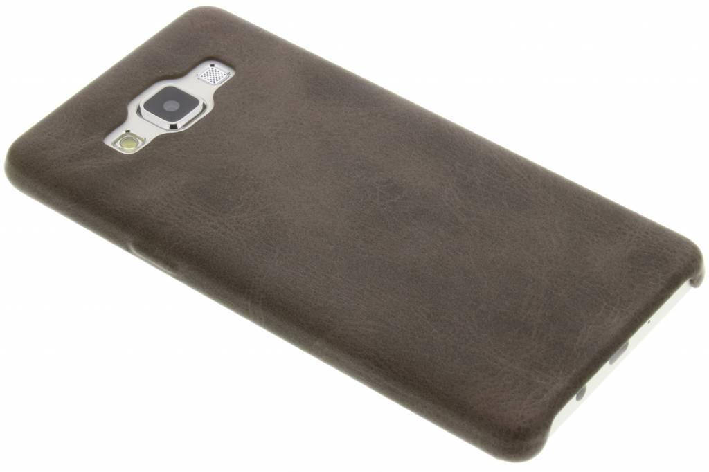 Bruine TPU Leather Case voor de Samsung Galaxy A5