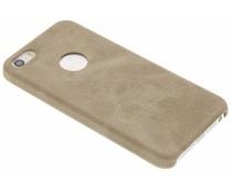 Beige TPU Leather Case iPhone 5 / 5s / SE
