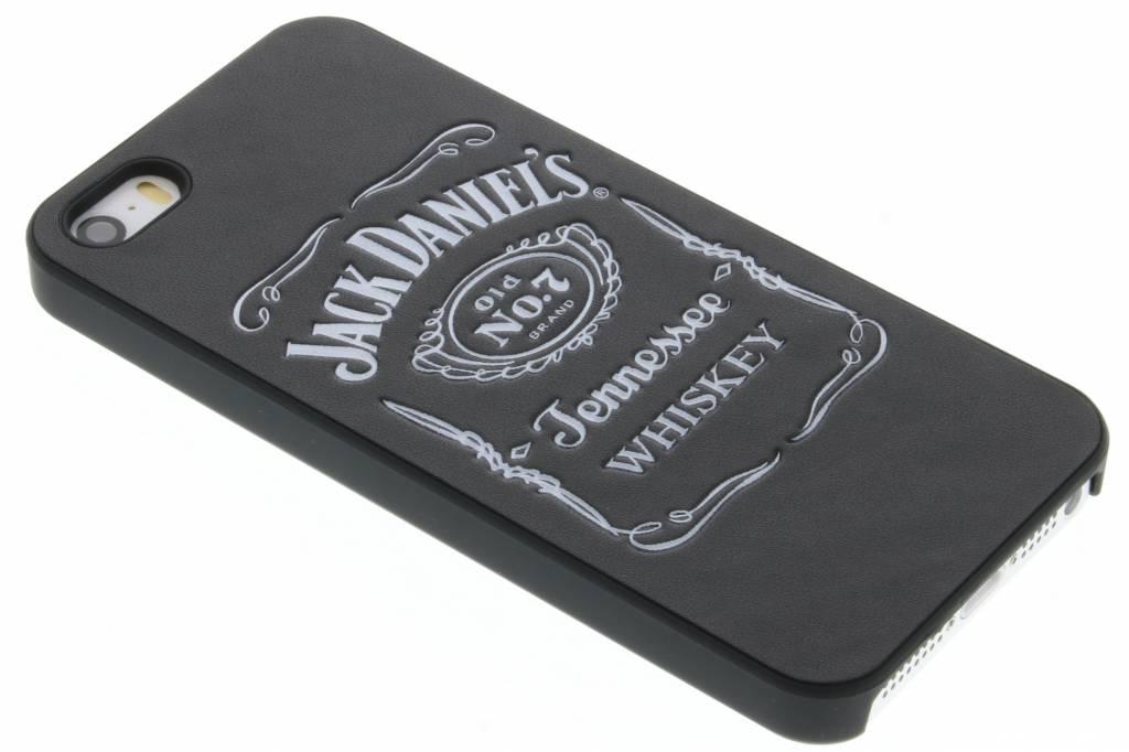Jack Daniel's leder look hardcase hoesje voor de iPhone 5 / 5s / SE