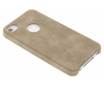Beige TPU Leather Case iPhone 4 / 4s