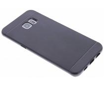 Zwart TPU Protect case Samsung Galaxy S6 Edge Plus