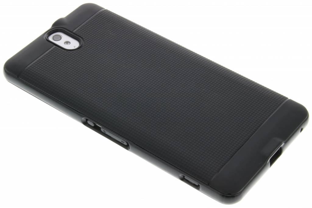 Zwarte TPU Protect case voor de Sony Xperia C5 Ultra