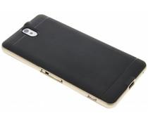 Goud TPU Protect case Sony Xperia C5 Ultra