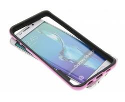 Roze bumper Samsung Galaxy S6 Edge Plus