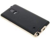 Goud TPU Protect case Samsung Galaxy Note 4